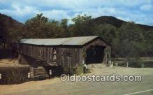 cou100344 - Scott, Townshend, VT USA Covered Bridge Postcard Post Card Old Vintage Antique