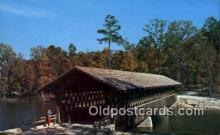 cou100413 - Stone Mtn Memorial Park, Stone Mt, GA USA Covered Bridge Postcard Post Card Old Vintage Antique
