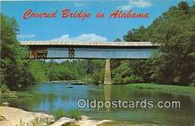 cou100738 - Covered Bridge Vintage Postcard