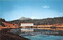 cou100740 - Covered Bridge Vintage Postcard