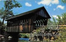 cou100759 - Covered Bridge Vintage Postcard