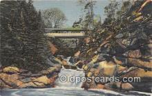cou100765 - Covered Bridge Vintage Postcard