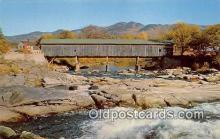 cou100793 - Covered Bridge Vintage Postcard