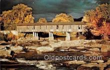 cou100794 - Covered Bridge Vintage Postcard