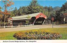 cou100816 - Covered Bridge Vintage Postcard