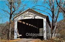 cou100820 - Covered Bridge Vintage Postcard