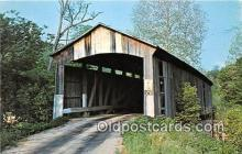 cou100834 - Covered Bridge Vintage Postcard