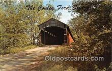 cou100840 - Covered Bridge Vintage Postcard