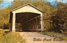 cou100841 - Covered Bridge Vintage Postcard