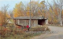 cou100862 - Covered Bridge Vintage Postcard