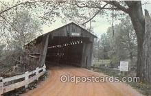 cou100864 - Covered Bridge Vintage Postcard