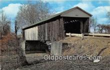 cou100867 - Covered Bridge Vintage Postcard