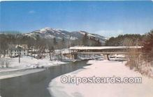 cou100900 - Covered Bridge Vintage Postcard
