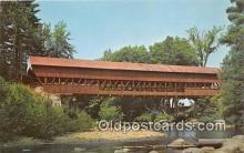 cou100916 - Covered Bridge Vintage Postcard
