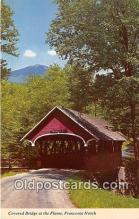 cou100933 - Covered Bridge Vintage Postcard