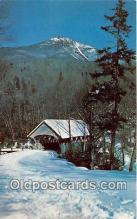 cou100935 - Covered Bridge Vintage Postcard