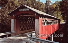 cou100987 - Covered Bridge Vintage Postcard