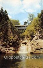 cou100995 - Covered Bridge Vintage Postcard