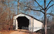 cou101018 - Covered Bridge Vintage Postcard