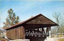 cou101036 - Covered Bridge Vintage Postcard