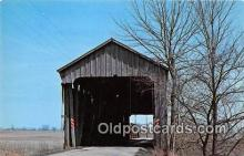 cou101039 - Covered Bridge Vintage Postcard