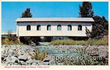 cou101041 - Covered Bridge Vintage Postcard