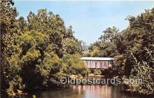 cou101045 - Covered Bridge Vintage Postcard