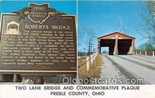 cou101048 - Covered Bridge Vintage Postcard