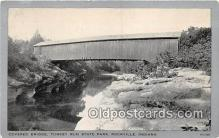 cou101072 - Covered Bridge Vintage Postcard