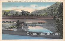 cou101081 - Covered Bridge Vintage Postcard