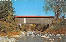 cou101085 - Covered Bridge Vintage Postcard