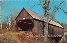 cou101086 - Covered Bridge Vintage Postcard