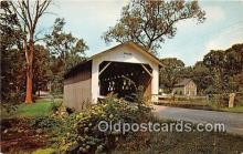 cou101087 - Covered Bridge Vintage Postcard