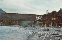cou101091 - Covered Bridge Vintage Postcard