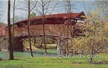cou101093 - Covered Bridge Vintage Postcard