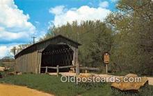 cou101095 - Covered Bridge Vintage Postcard