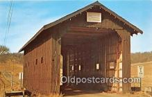 cou101096 - Covered Bridge Vintage Postcard