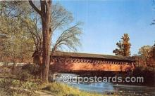 cou101136 - Covered Bridge Vintage Postcard