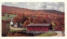 cou101139 - Covered Bridge Vintage Postcard