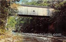 cou101141 - Covered Bridge Vintage Postcard