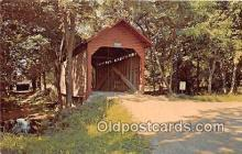 cou101143 - Covered Bridge Vintage Postcard