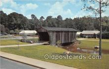 cou101148 - Covered Bridge Vintage Postcard