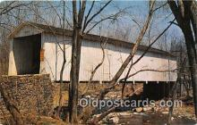 cou101151 - Covered Bridge Vintage Postcard