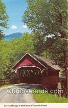 cou101153 - Covered Bridge Vintage Postcard