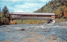 cou101154 - Covered Bridge Vintage Postcard