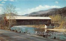 cou101159 - Covered Bridge Vintage Postcard