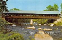 cou101162 - Covered Bridge Vintage Postcard