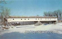 cou101166 - Covered Bridge Vintage Postcard
