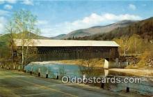 cou101172 - Covered Bridge Vintage Postcard