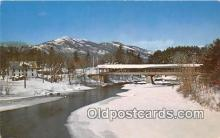 cou101173 - Covered Bridge Vintage Postcard